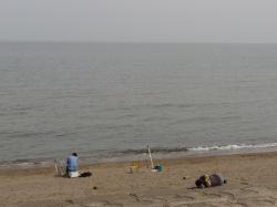 直江津の海