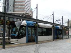 JR富山駅北口ポートラム始発乗り場