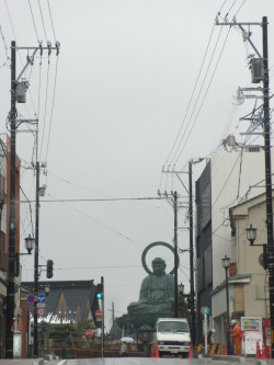 高岡大仏寺の大仏さん