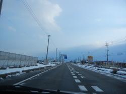 大晦日の国道8号線