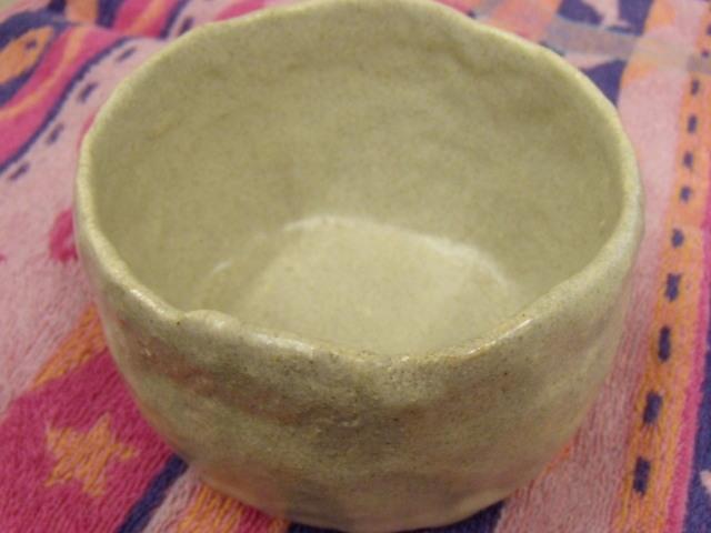 信楽焼きの茶碗