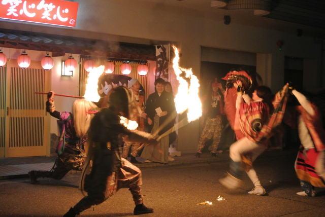 獅子舞祭り