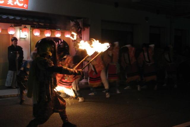 火炎獅子舞